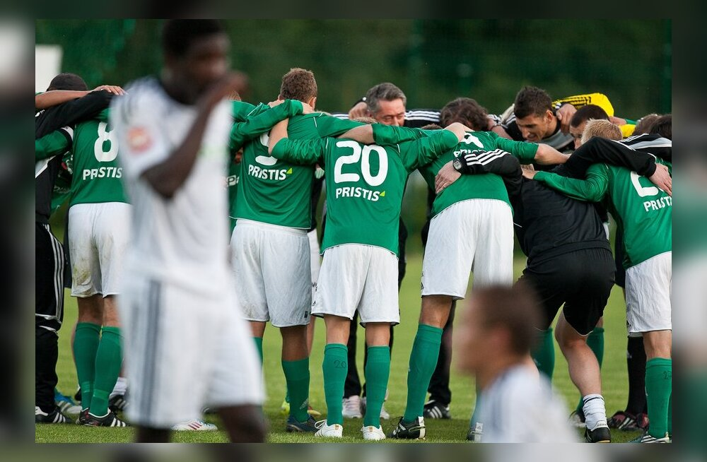 FC Levadia, jalgpall