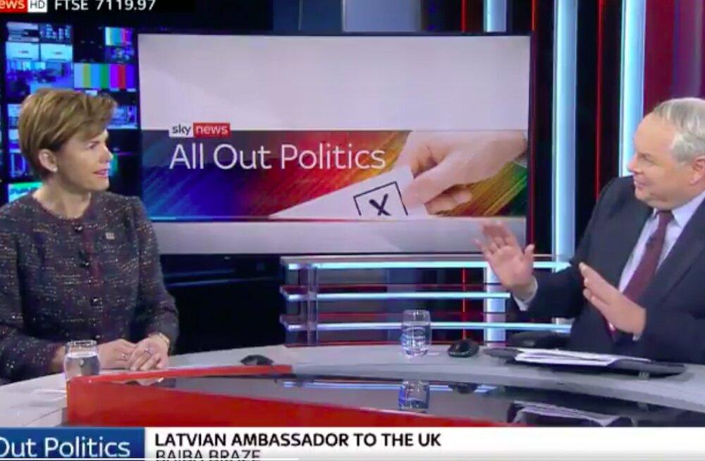 VIDEO | Briti uudisteankur ajas Läti ja Leedu otse-eetris sassi, kahjuks juhtus see väga vale inimese ees