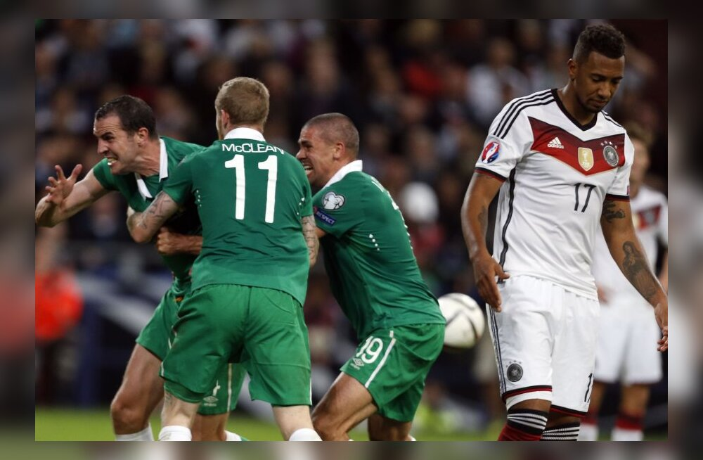 VIDEO: Viimase hetke värav päästis iirlastele Saksamaa vastu viigi