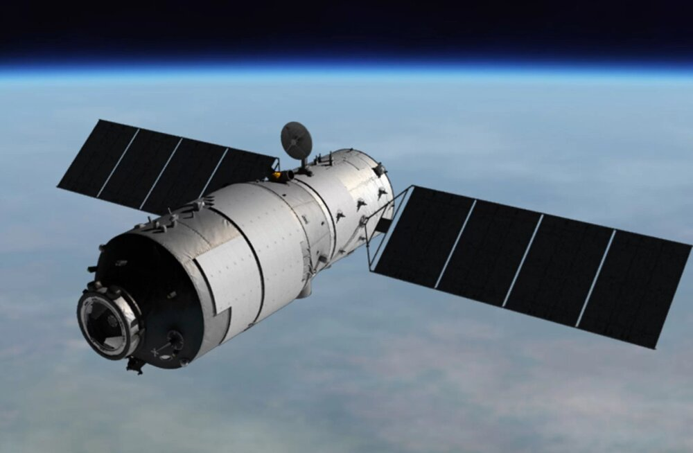 Hiinlaste kosmosejaam Tiangong-1 kukub alla mõne tunni pärast – kuidas jälgida, kus see asub ja kuhu kukub?