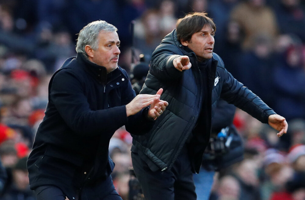 Mourinho ja Conte