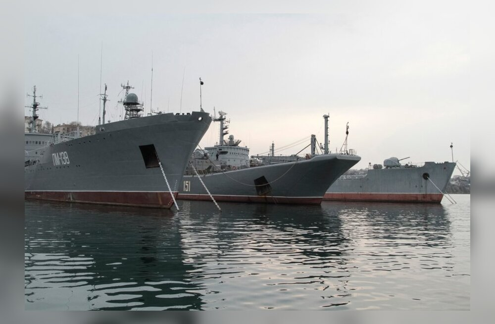 Venemaa: Musta mere laevastik järgib rangelt rahvusvahelisi leppeid