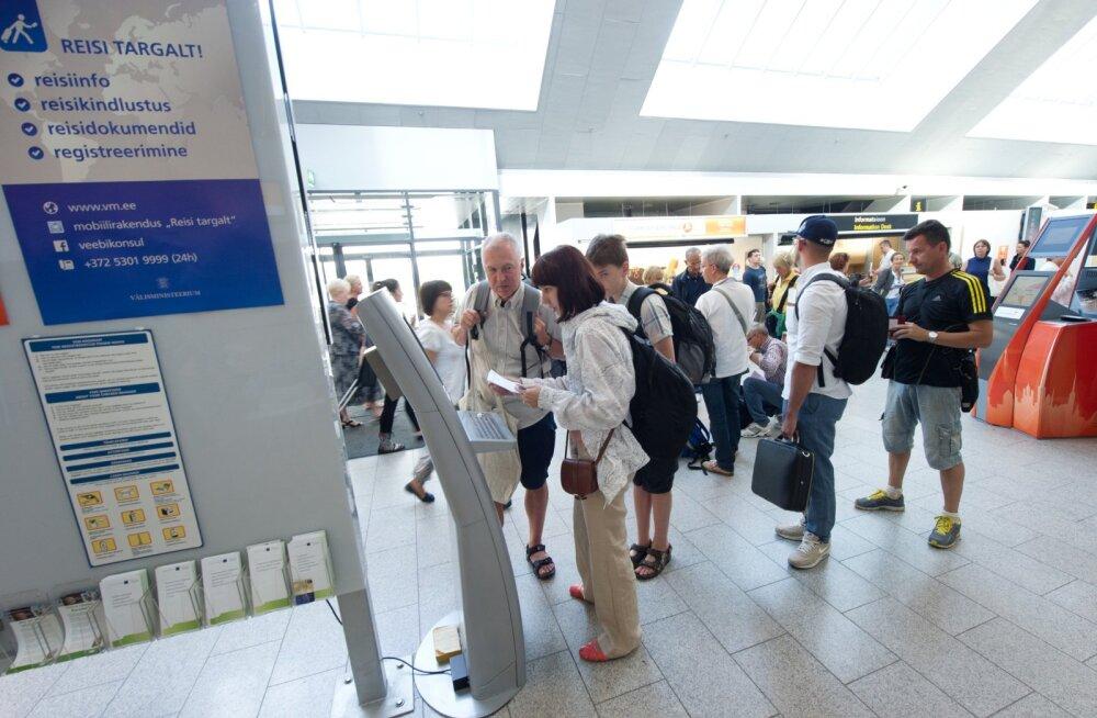 Chek- in Tallinna Lennujaamas