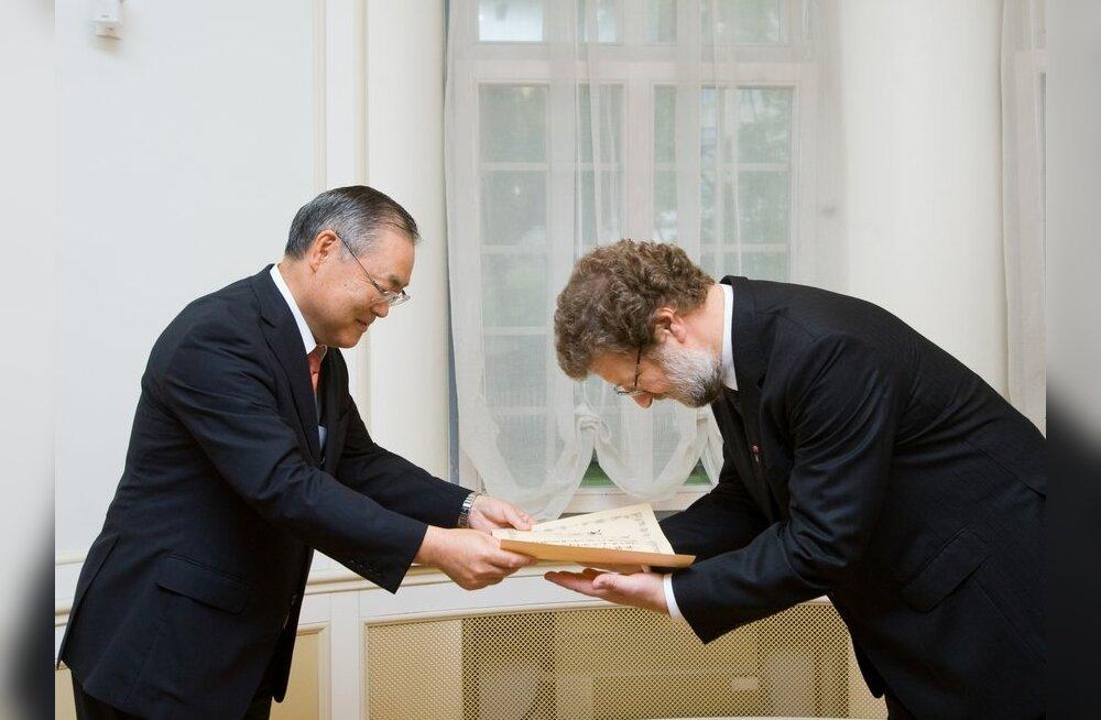Panus Jaapani-alastesse uuringutesse tõi Rein Rauale tunnustuse