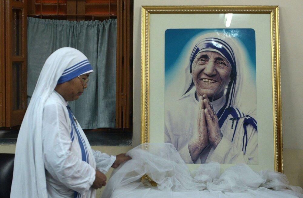 Paavst Franciscus: Ema Teresa kuulutatakse pühakuks septembris