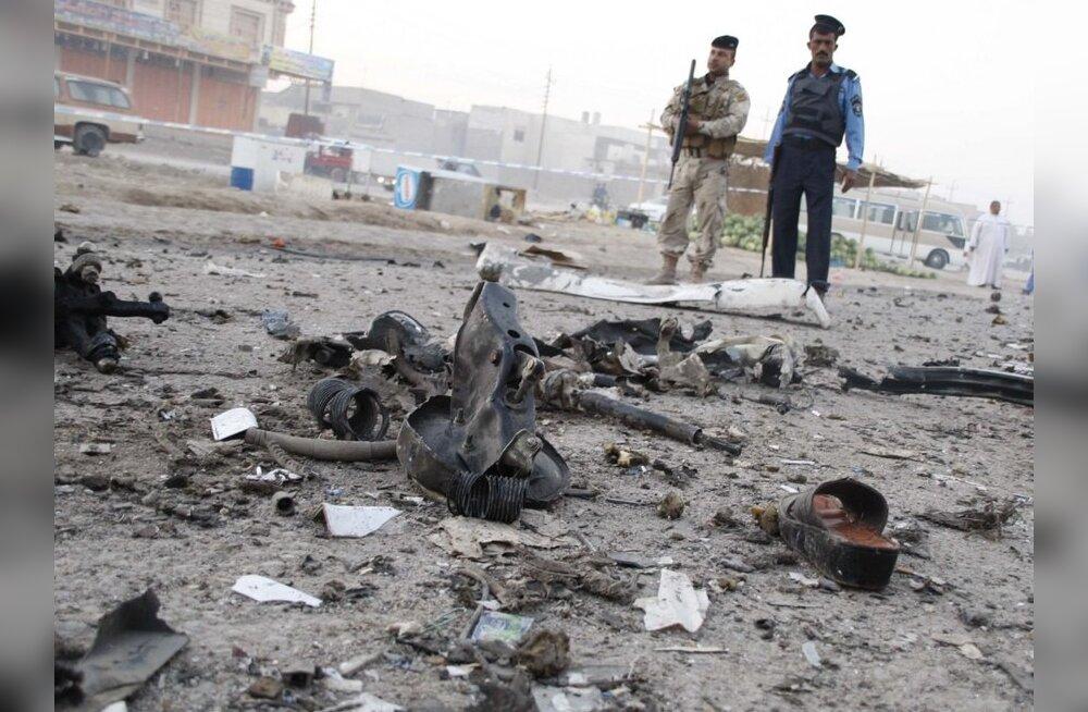 Iraagis hukkus Rootsi kodanikust enesetaputerrorist