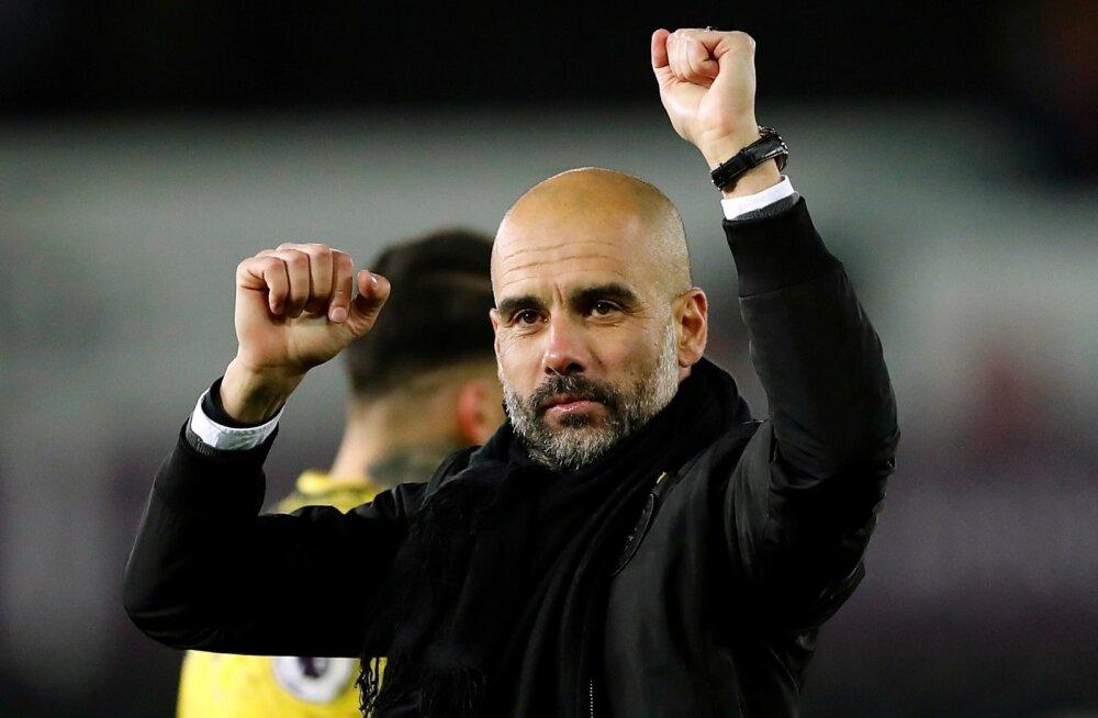 Pep Guardiola on saanud Manchester Citys asjad soovitult käima.