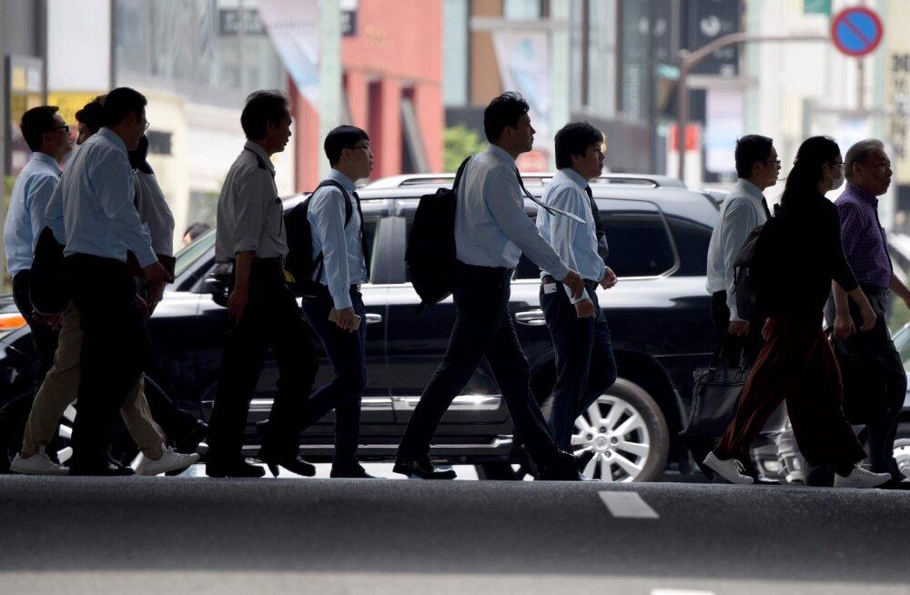 Jaapani suur mure - igale tööotsijale avaneb juba 1,48 töökohta
