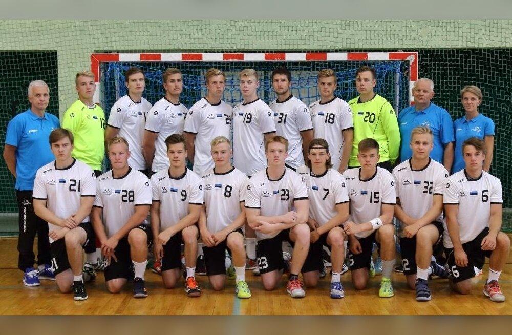 Eesti kuni 20-aastaste käsipallikoondis
