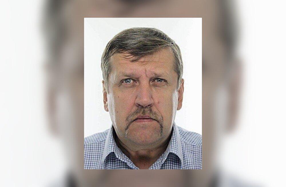 Полиция ищет пропавшего в Вырумаа 51-летнего Айвара