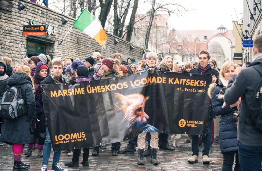 Nädalavahetusel marsivad sajad loomakaitsjad riigikogu ette