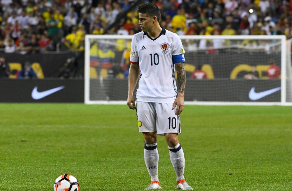 James Rodriguez siirdub 50 miljoni naelsterlingi eest Manchester Unitedisse?