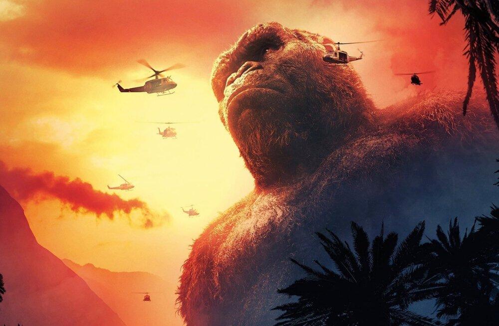 """Seiklusmäruli """"Kong: Pealuu saar"""" ainetel: kui palju on hiigelahv kinolinal aja jooksul kasvanud?"""