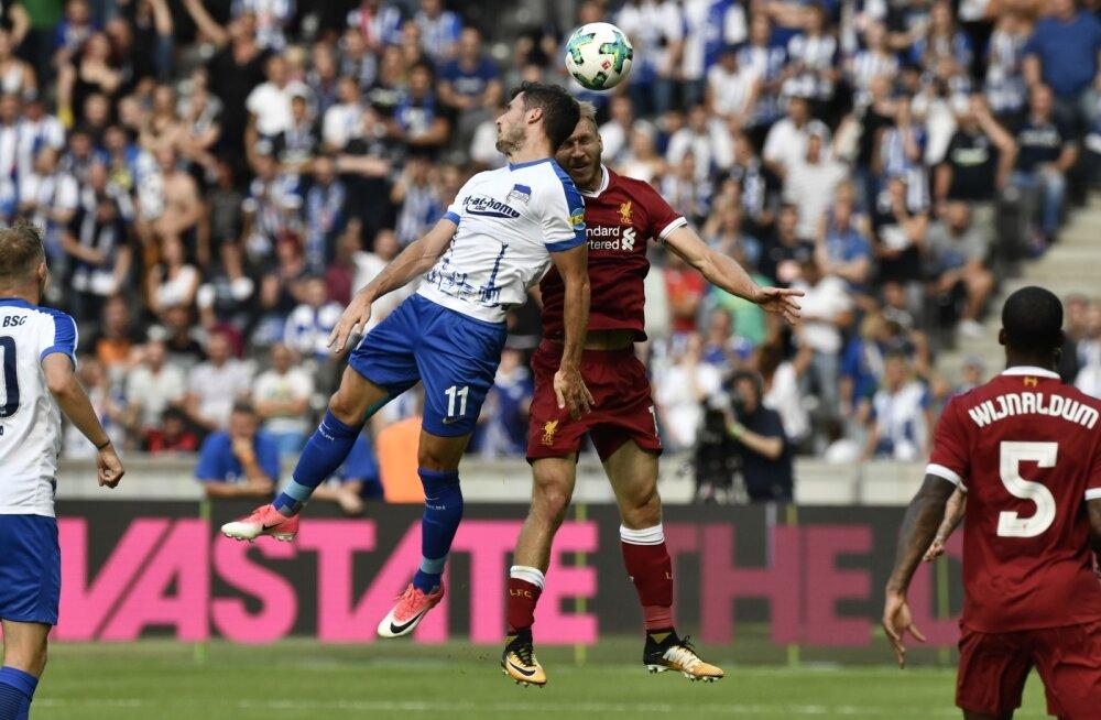 Klavan ja Liverpool alistasid kindlalt Berliini Hertha