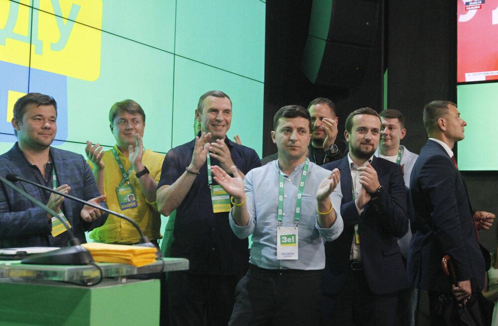 Ukraina presidendi Zelenskõi erakond ei pruugi koalitsioonipartnereid vajadagi