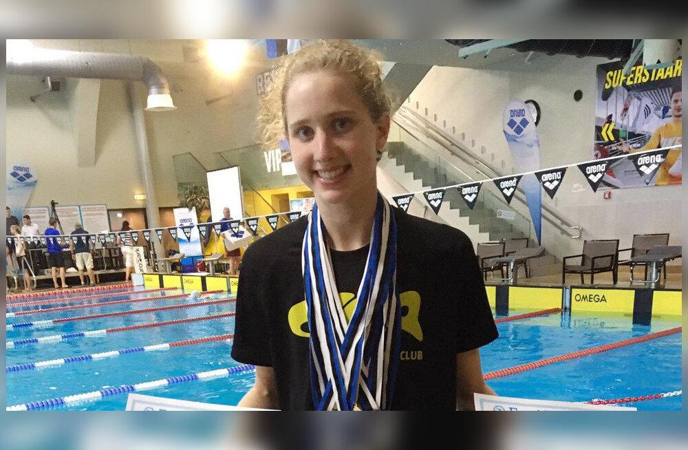 17-aastane väliseestlane üllatas Kanadas Eesti rekordi ületamisega
