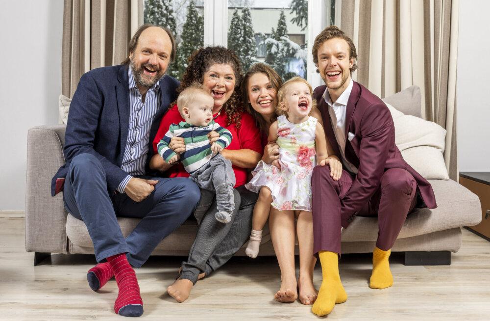 Teistmoodi perekond: Gerli ja Lauri Grand Uustalu peres olid lastele lubatud nii vein, sigaretid kui ka mõnuained