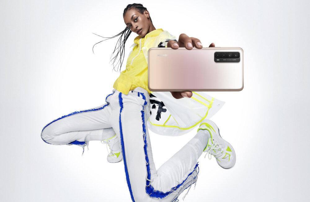 Huawei P smart 2021 telefoni arvustus: sellel on kõik, mida tänapäeva inimene vajab