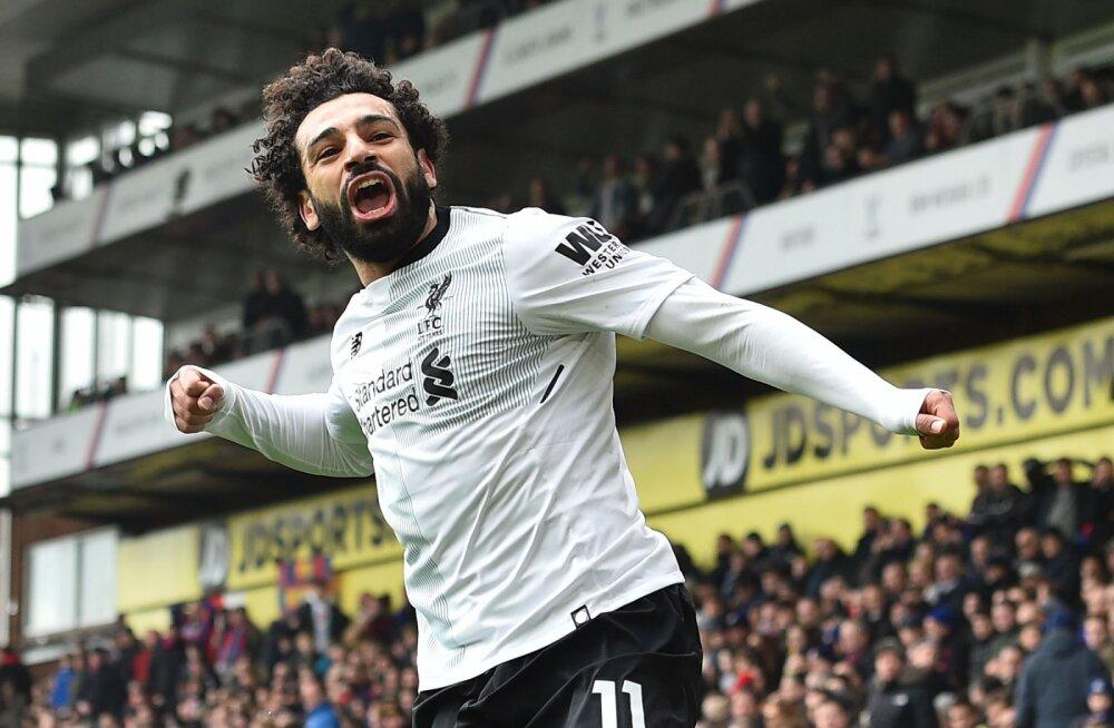 6 vägevat rekordit, mille Liverpooli välejalg Salah on sel hooajal juba püstitanud