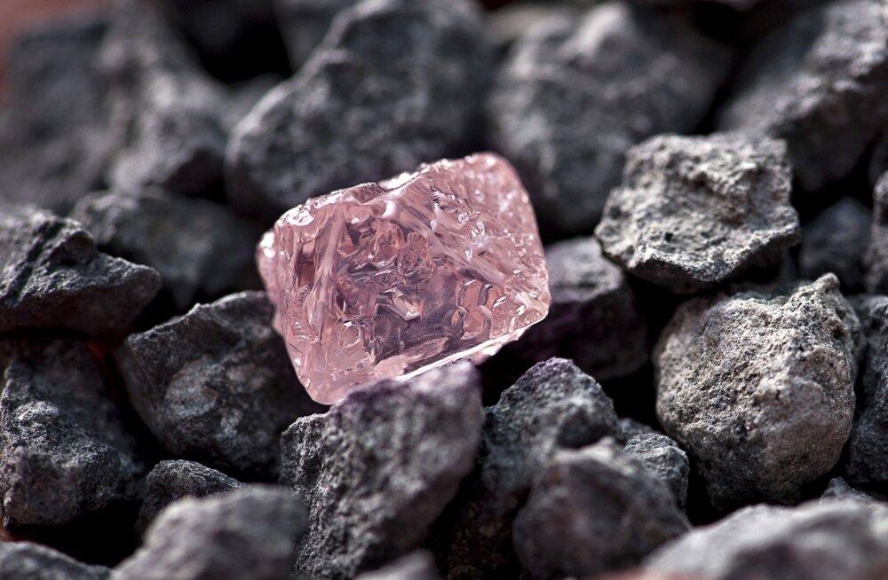 Argyle'i kaevanduse roosa teemant