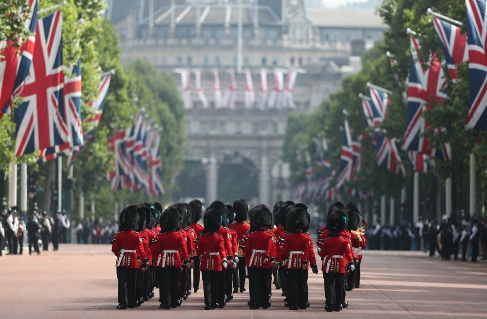 BRITAIN-ROYAL-TROOPING