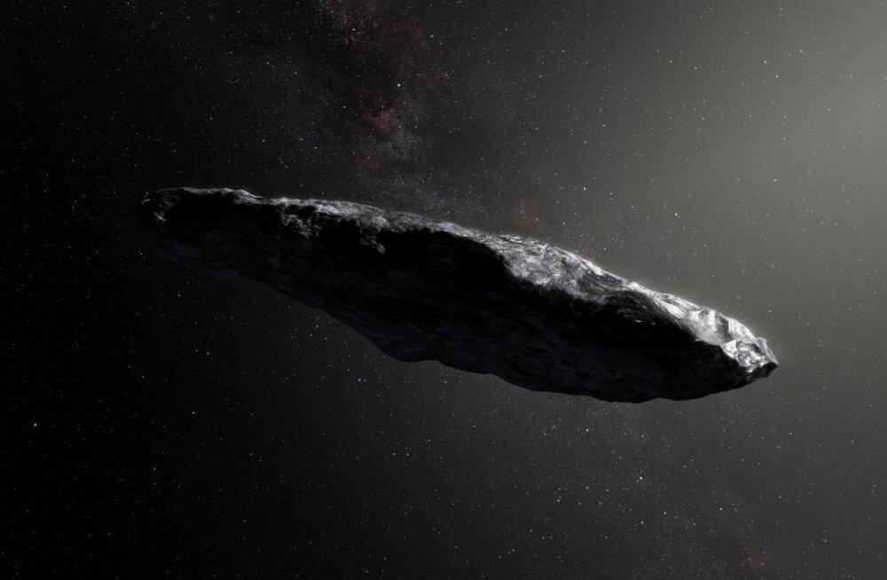 Oumuamua avastaja: tegemist ei ole tulnukate laevaga