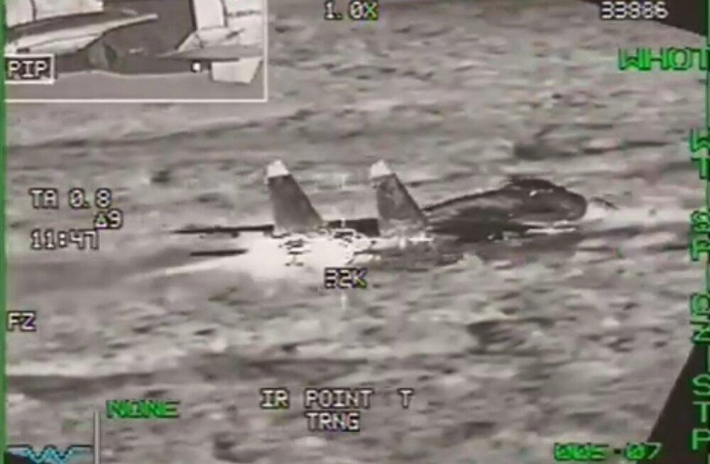 VIDEO | Belgia hävitajad saatsid Läänemere kohal lennuplaanita lennanud Vene sõjalennukeid