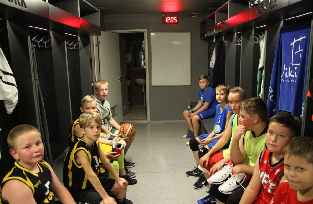 Lõuna-Eesti noortekorvpallis moodustati suur koondvõistkond