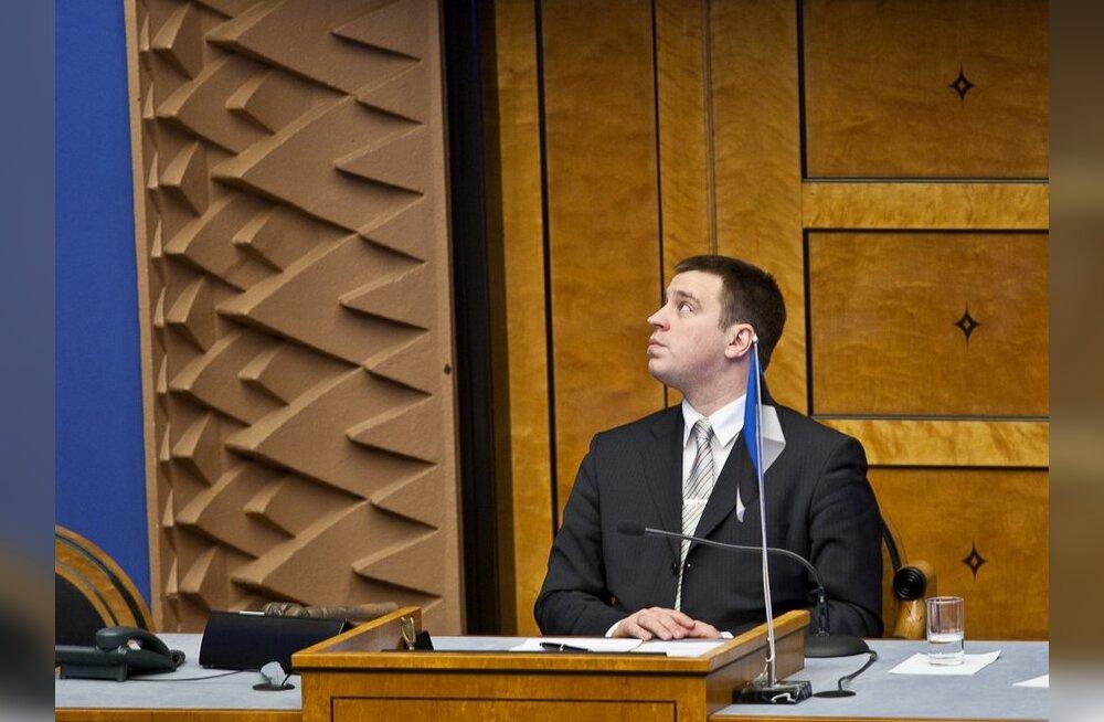 Kui Indrek Tarand peaks Eesti presidendiks saama, läheb Euroopa Parlamenti Jüri Ratas