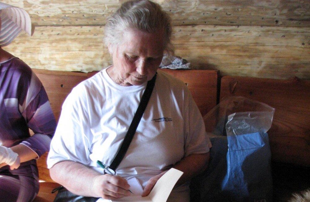 Suri ajakirjanik ja kirjanik Nasta Pino