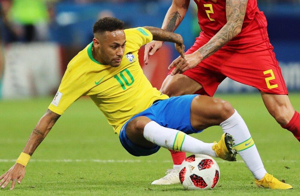 Neymar võib olla maailma kõige kallim jalgpallur, kuid Brasiilial oli sellest vähe abi ja lõpuks oli käpuli kogu koondis.