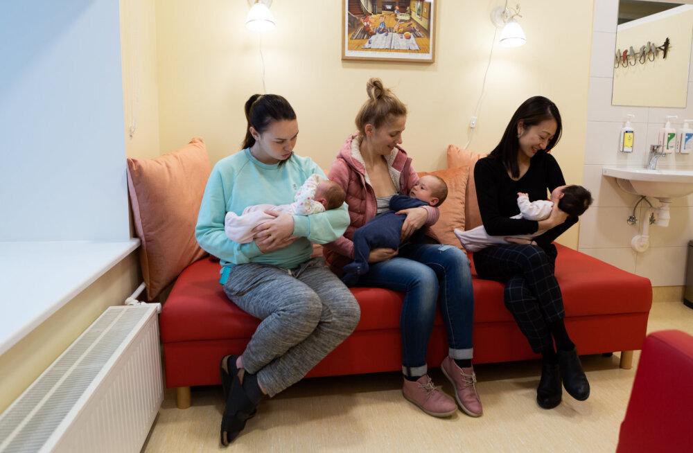 Rõõmusõnum noortele emadele | Keskhaigla naistekliinikus on nüüd imetamistuba!