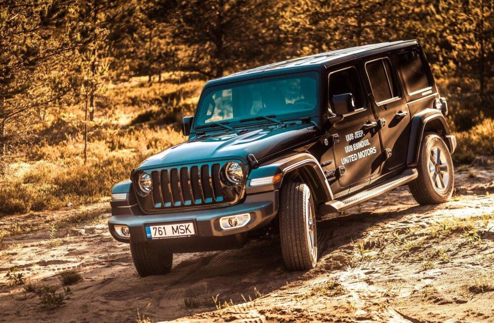 Jeep Wrangler: kes ütles, et legod ja lust on ainult lastele!?
