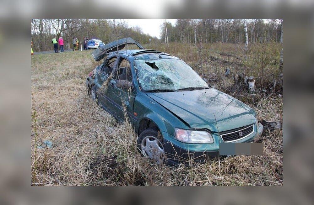 Läänemaa avarii 03.05.2014