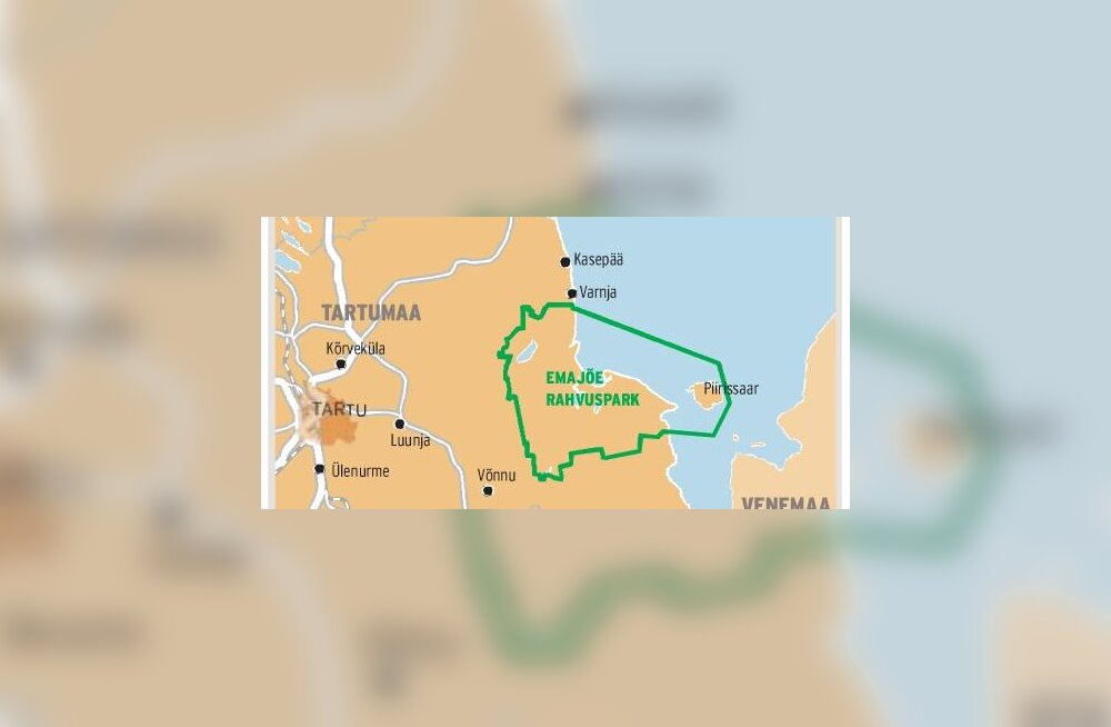 Vallad ei taha Peipsi äärde suurt Emajõe rahvusparki