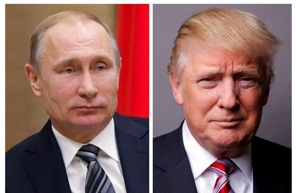Trump ja Putin arutasid telefonivestluses Süüria relvarahu ja Põhja-Korea teemasid