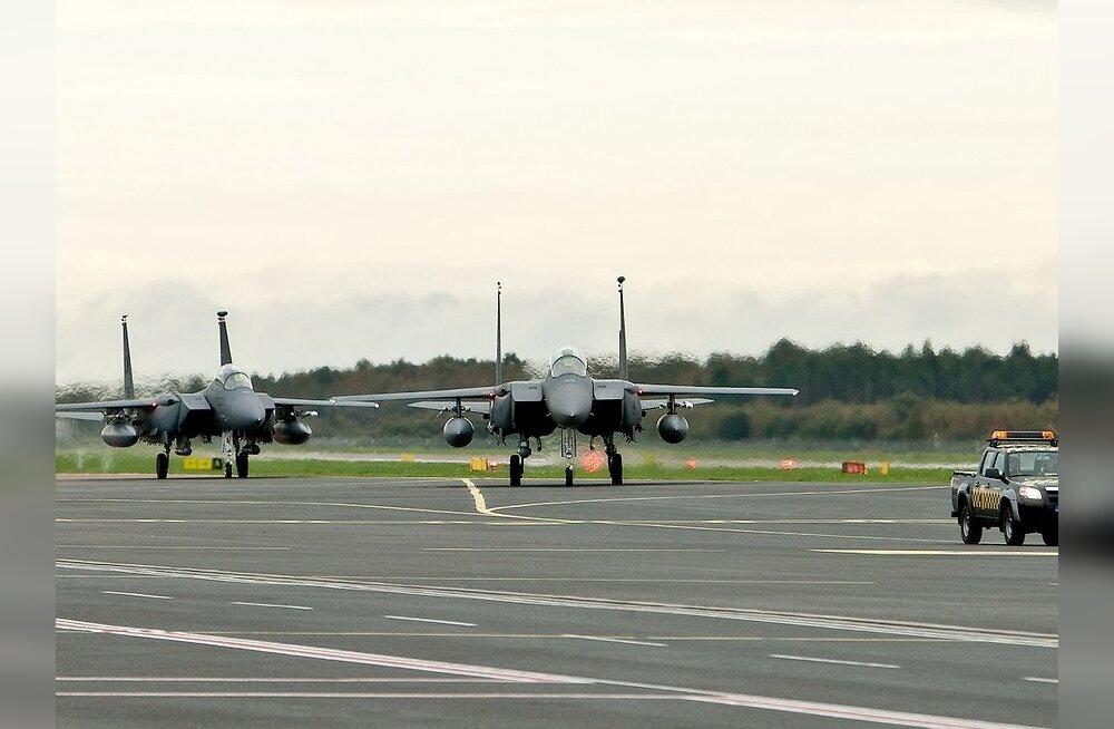 Balti õhuruumi asusid turvama sakslased