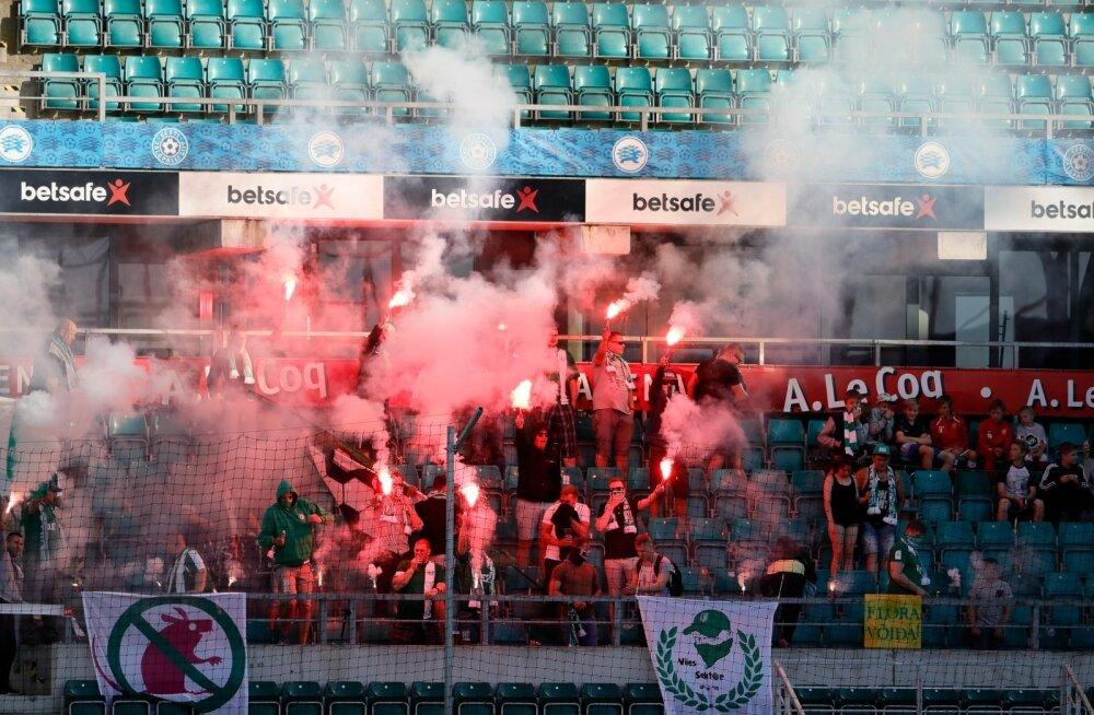 Jalgpall FC Flora vs Nõmme Kalju 19.06.2017