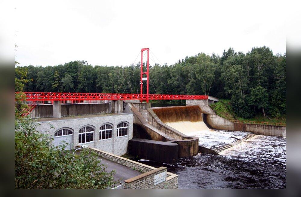 Jägala jõel asuva hüdroelektrijaama saatus on küsimärgi all