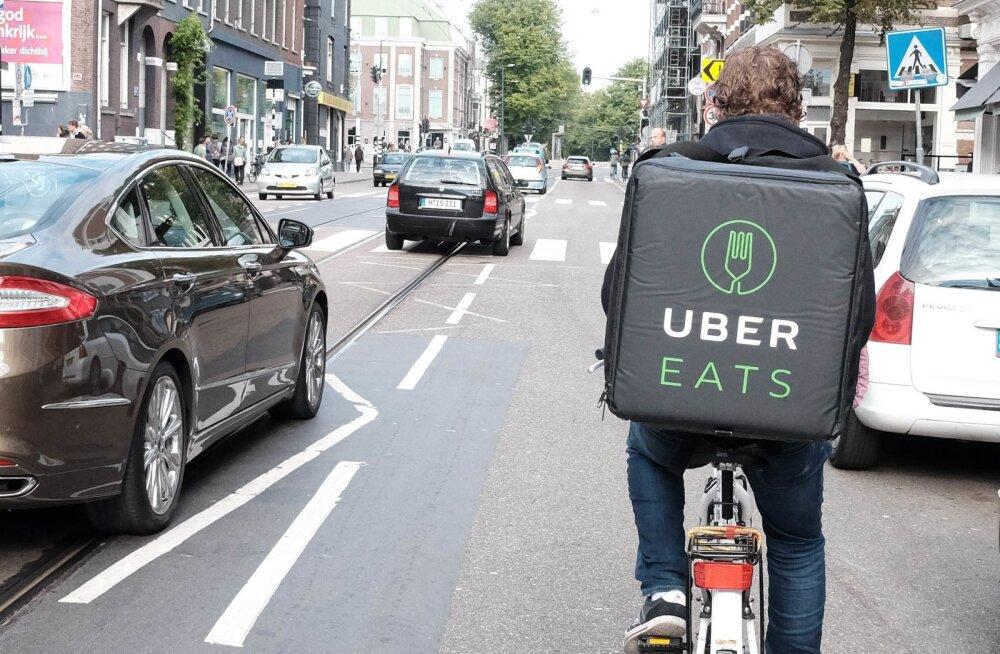 Uber hakkab inimestele auto asemel hoopis teistsugust liiklusvahendit pakkuma