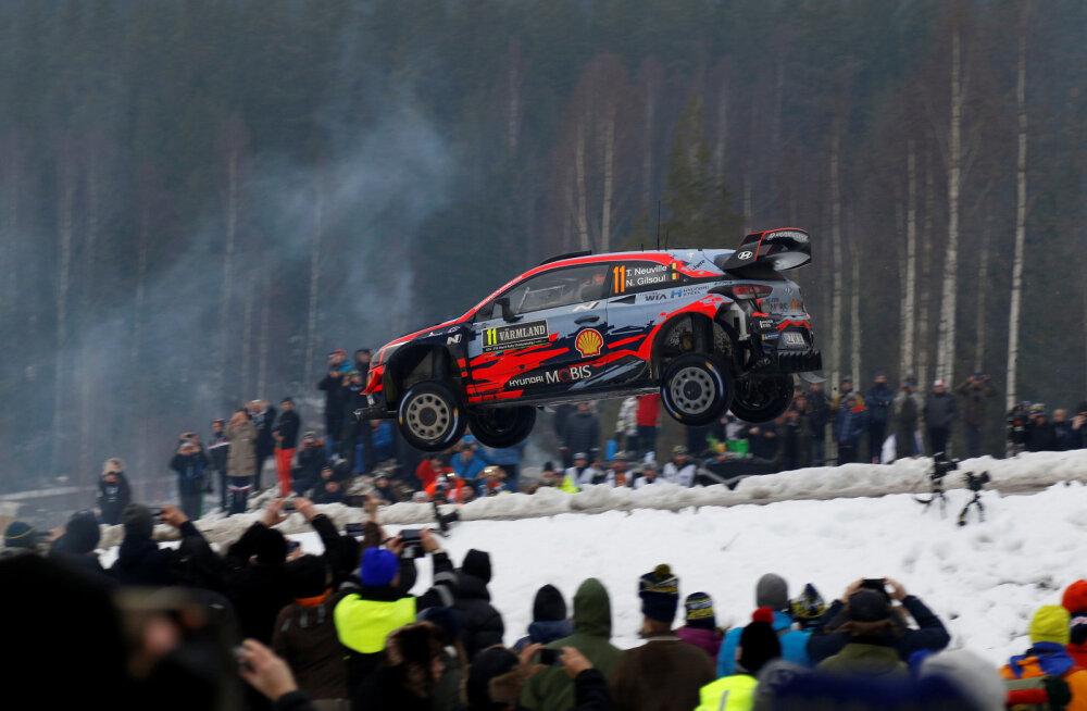 Thierry Neuville eelmise aasta Rootsi rallil