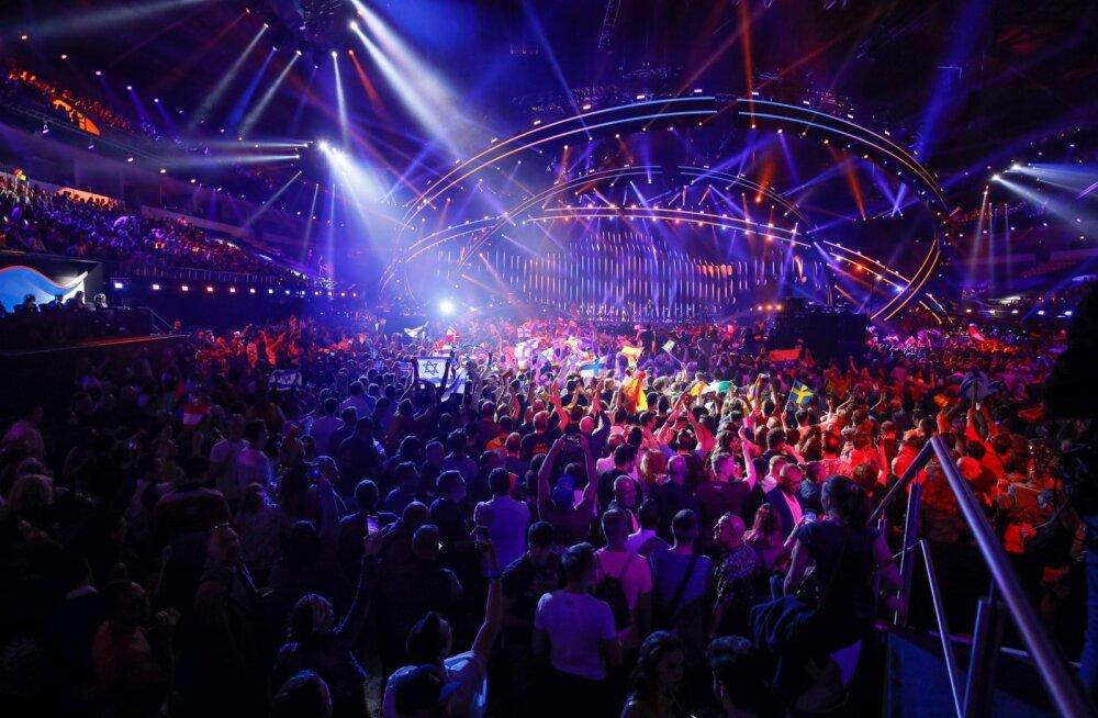 Eurovision 2018 esimene poofinaal