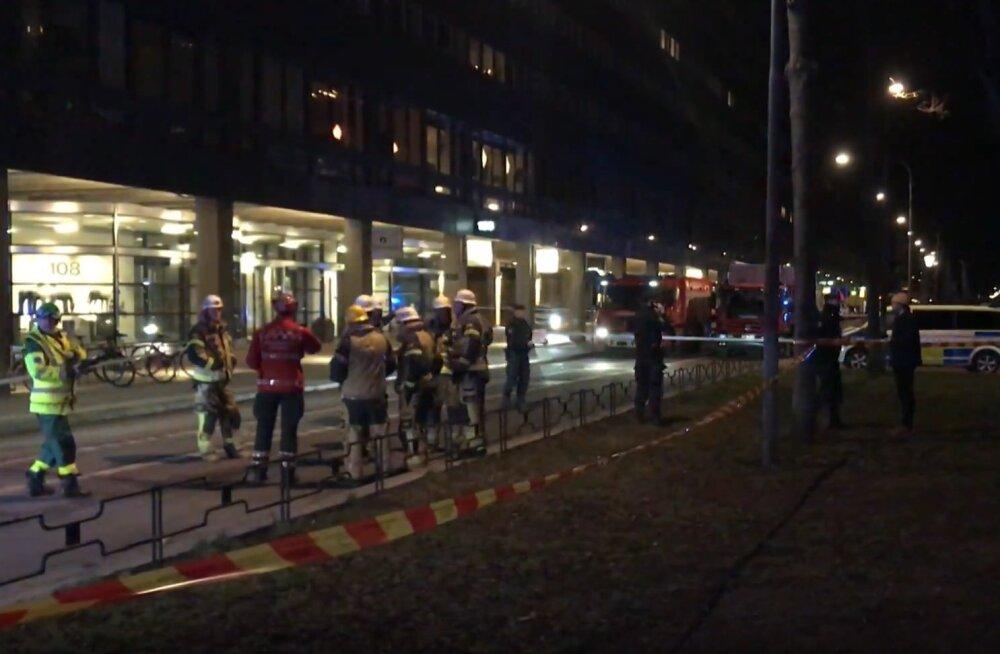 Rootsis toimusid öösel plahvatused Stockholmis ja Uppsalas