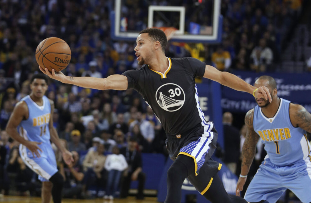 VIDEO: Curry sai uuesti vigastada, Warriors võitis lisaajal