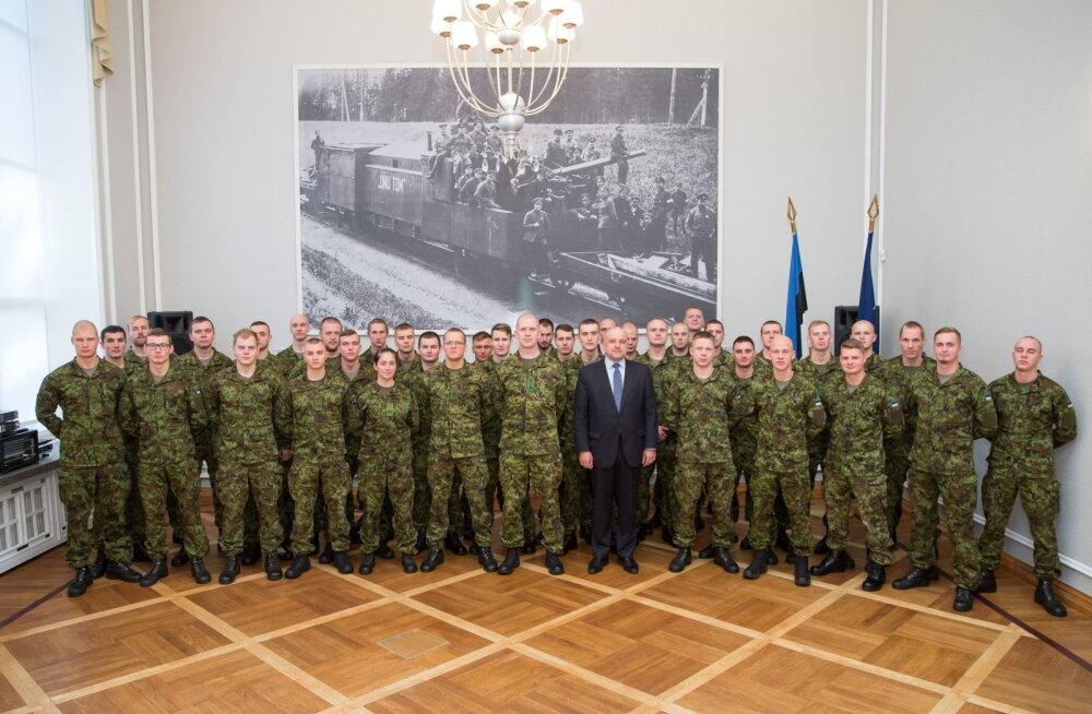 Министр обороны поблагодарил служивших в Мали эстонских военнослужащих