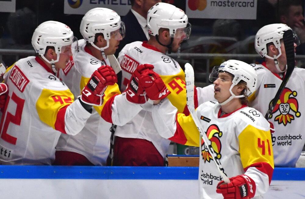 KHL TALLINNAS   Kumba meeskonda soosib omavaheline ajalugu?