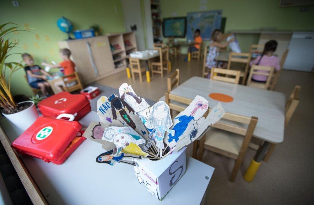В связи с ростом минимальной зарплаты в Таллинне подорожают детские сады