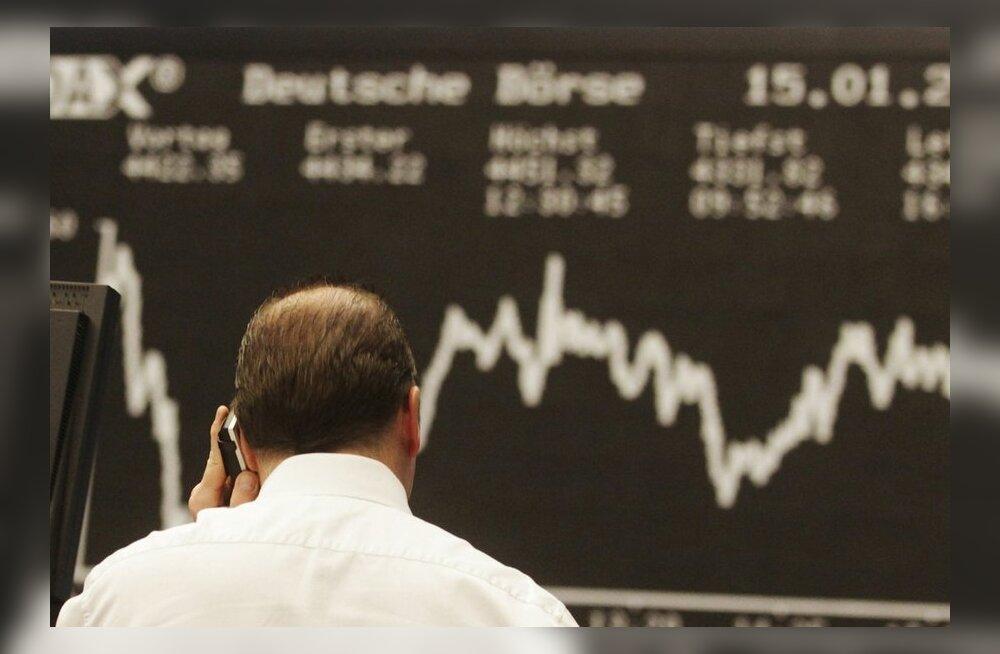 Ukraina kriis viis Balti börsi punasesse