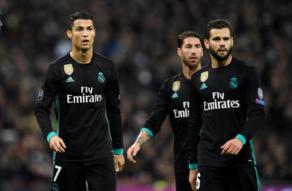Nõutud Madridi Reali staarid.