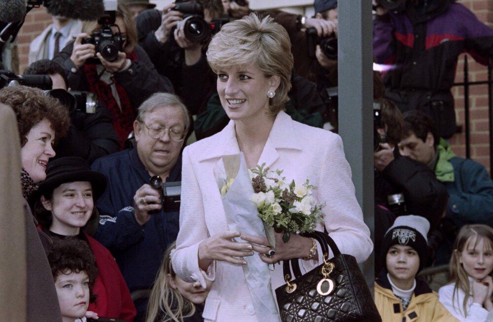 Telerist seebikad ja õhtusöögiks McDonald's: printsess Diana omapärane viis poegadele normaalne elu tagada